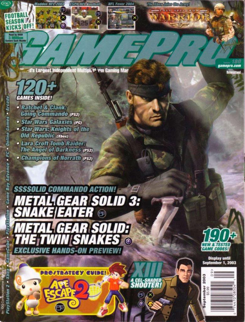Portada de Gamepro. Septiembre, 2013.